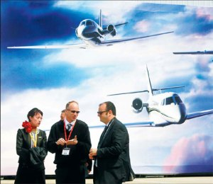 China Business Aviation Photo by Yong Kai China Daily