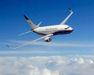 Boeing Business Jet sets world speed record