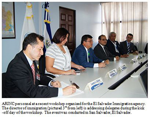 ARINC Conducting Border Security Workshops