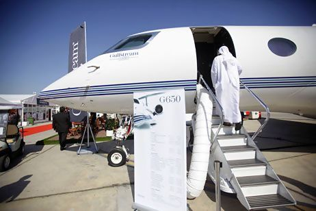 The Middle East Market for Business Jets is Increasing