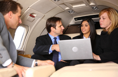 Passenger Communications & In-Flight Connectivity Solutions for the Business Jet Flight Deck