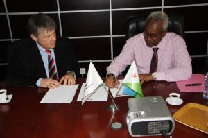 Bruce Dickinson Signs MOU with Air Djibouti