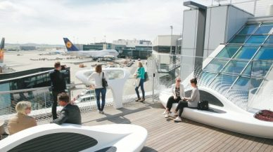 Frankfurt Airport Roof Terrace Opens T1 | Airport Industry News